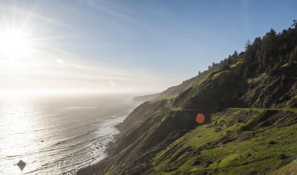 california coast road trip mendocino