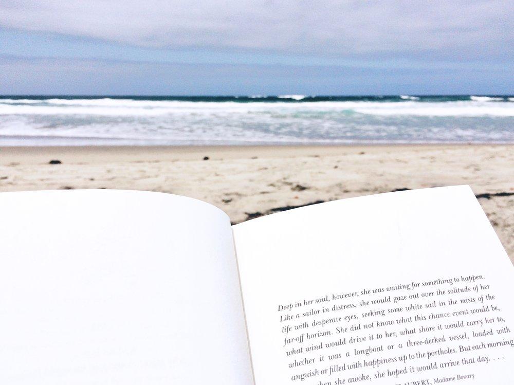 book on the beach socal summer