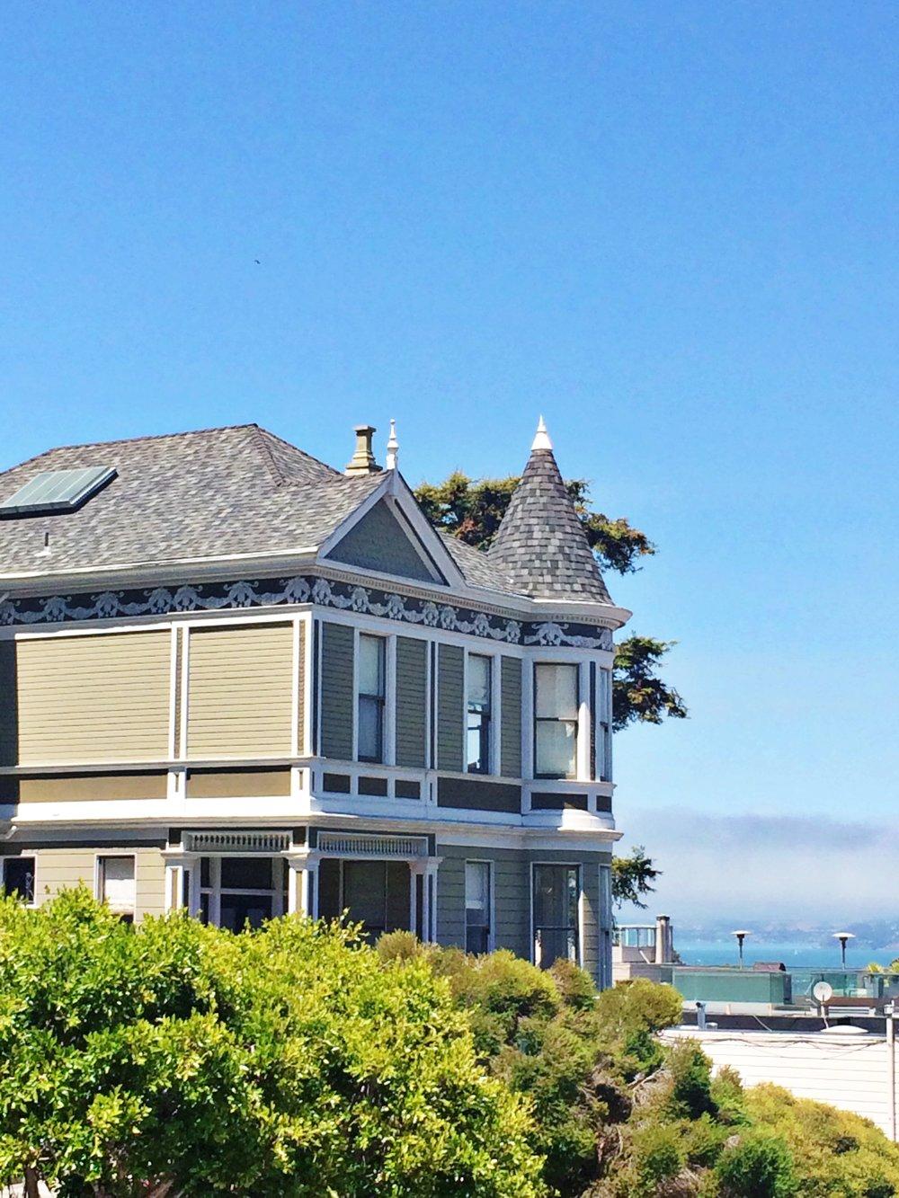 san francisco telegraph hill house views