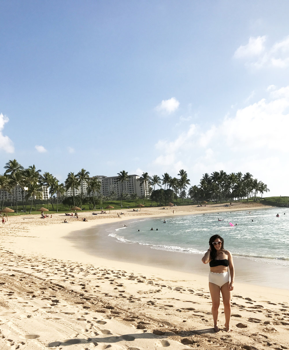 oahu beach ko'olina