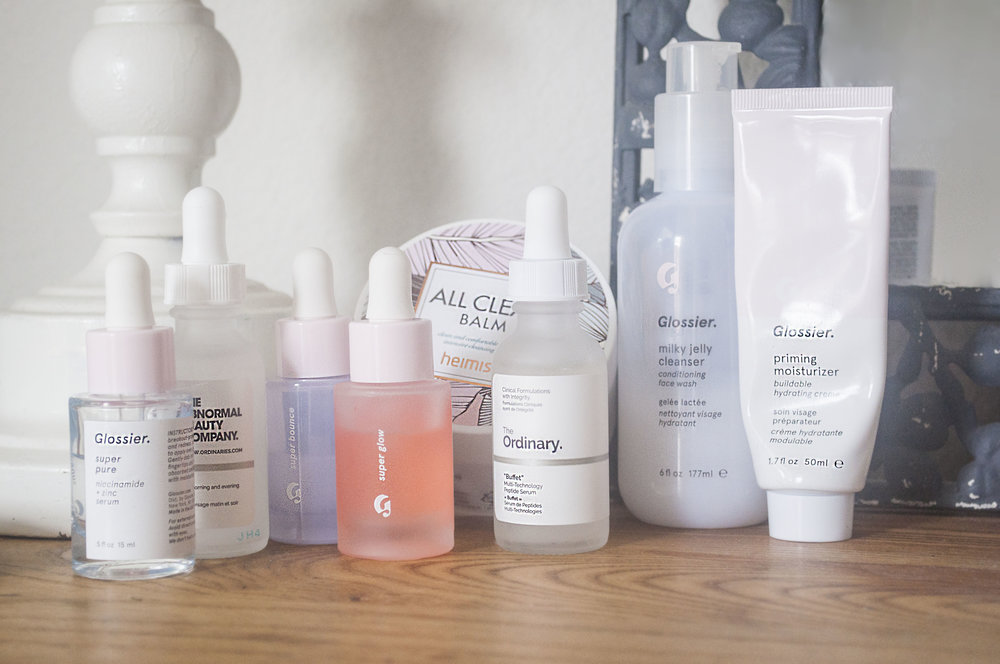 glossier and the ordinary review skincare guide