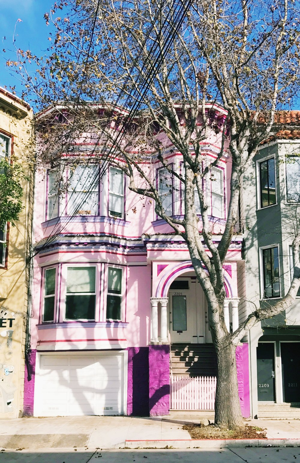 san francisco pink house