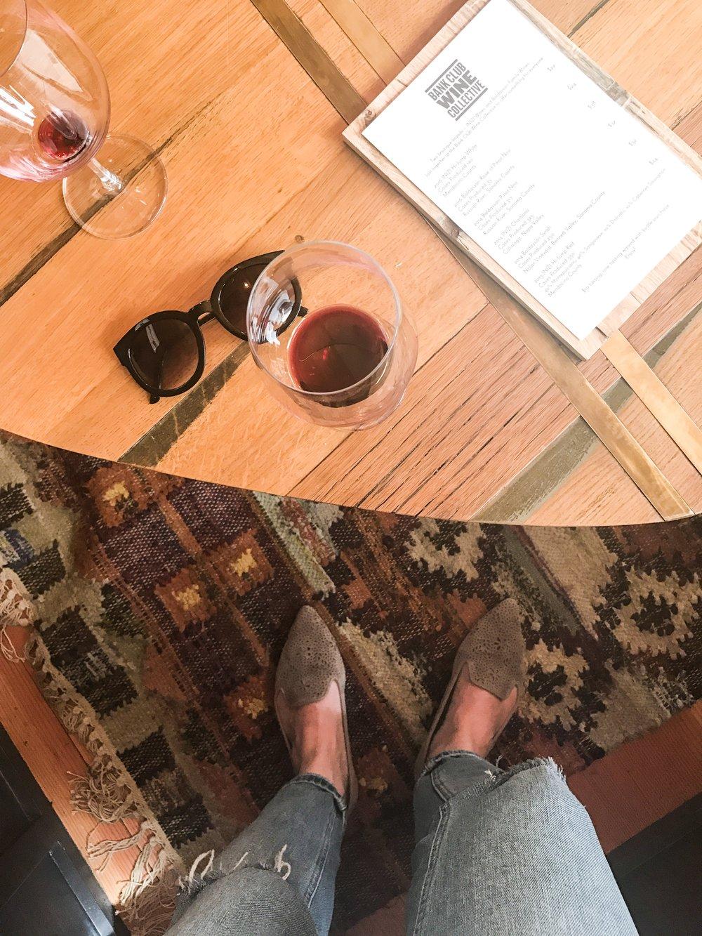 guerneville tasting room boho wine