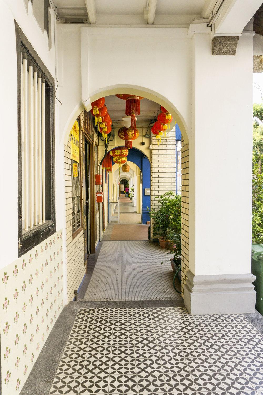 singapore vintage tile buildings