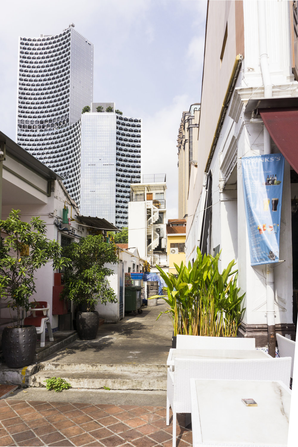 singapore arab street haji lane architecture