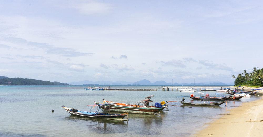 ang thong marine park from koh samui