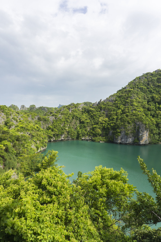 emerald lake thailand angthong koh samui hike