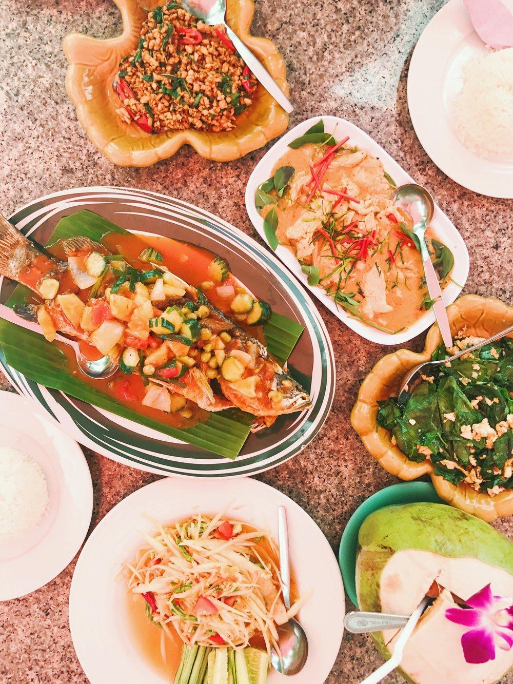thai food koh samui where to go
