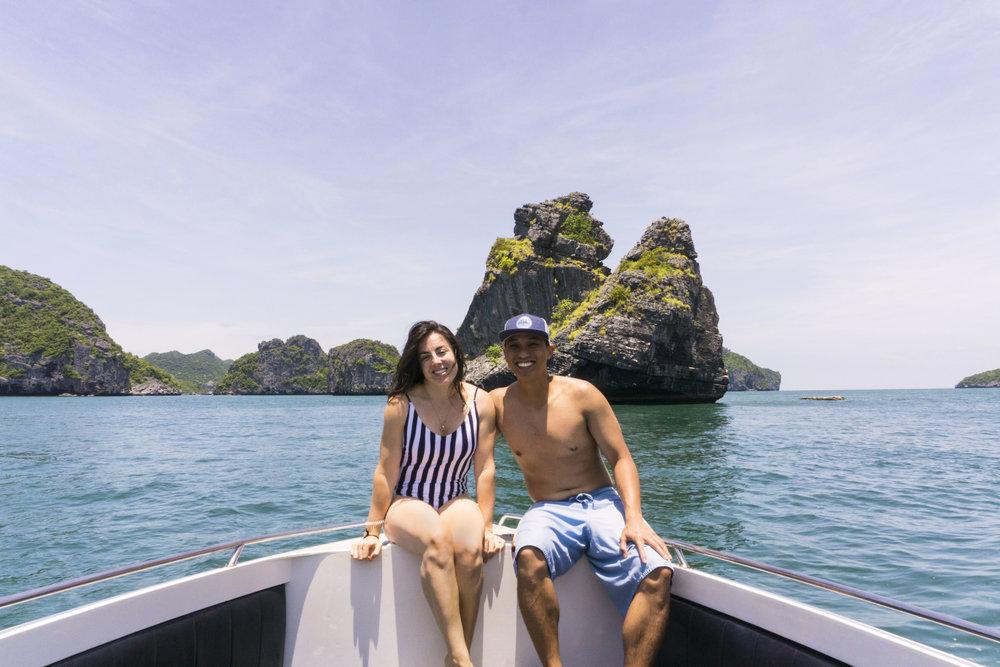 koh samui boat tour ang thong