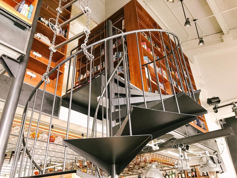 interior steampunk future the interval san francisco bars