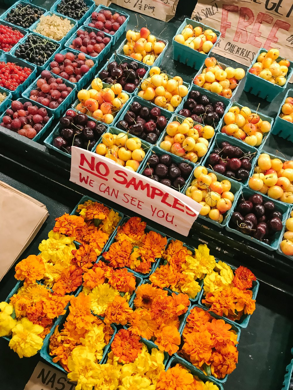 fresh produce PNW farmers markets seattle