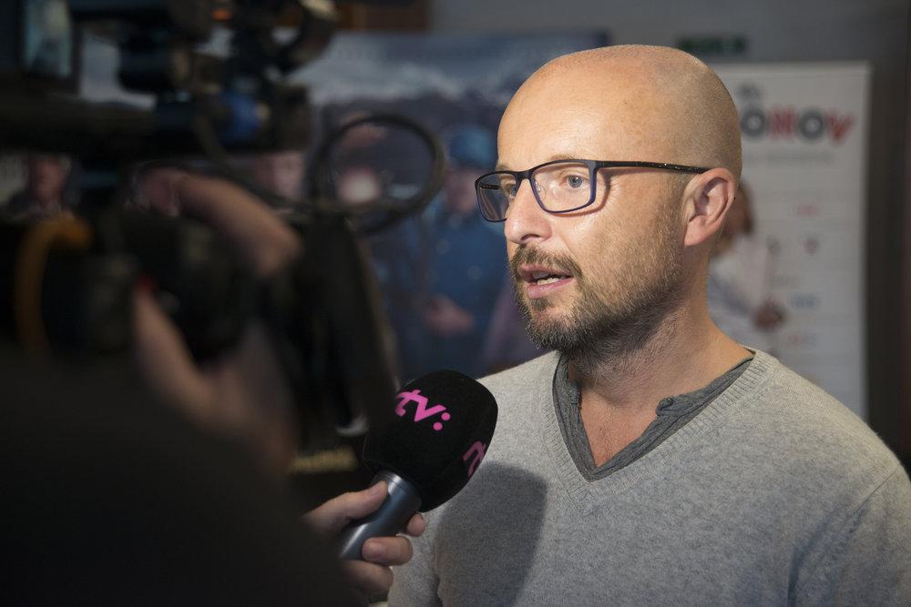 Česko-slovenský film Wilsonov režiséra Tomáša Mašína (na fotografii) vznikol v koprodukcii s RTVS.