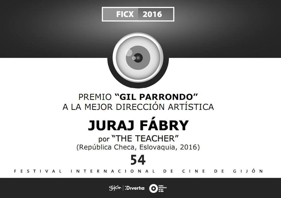 Cenu Gila Parronda za najlepšiu scénografiu pre film Učiteľka získal architekt filmu Juraj Fábry.