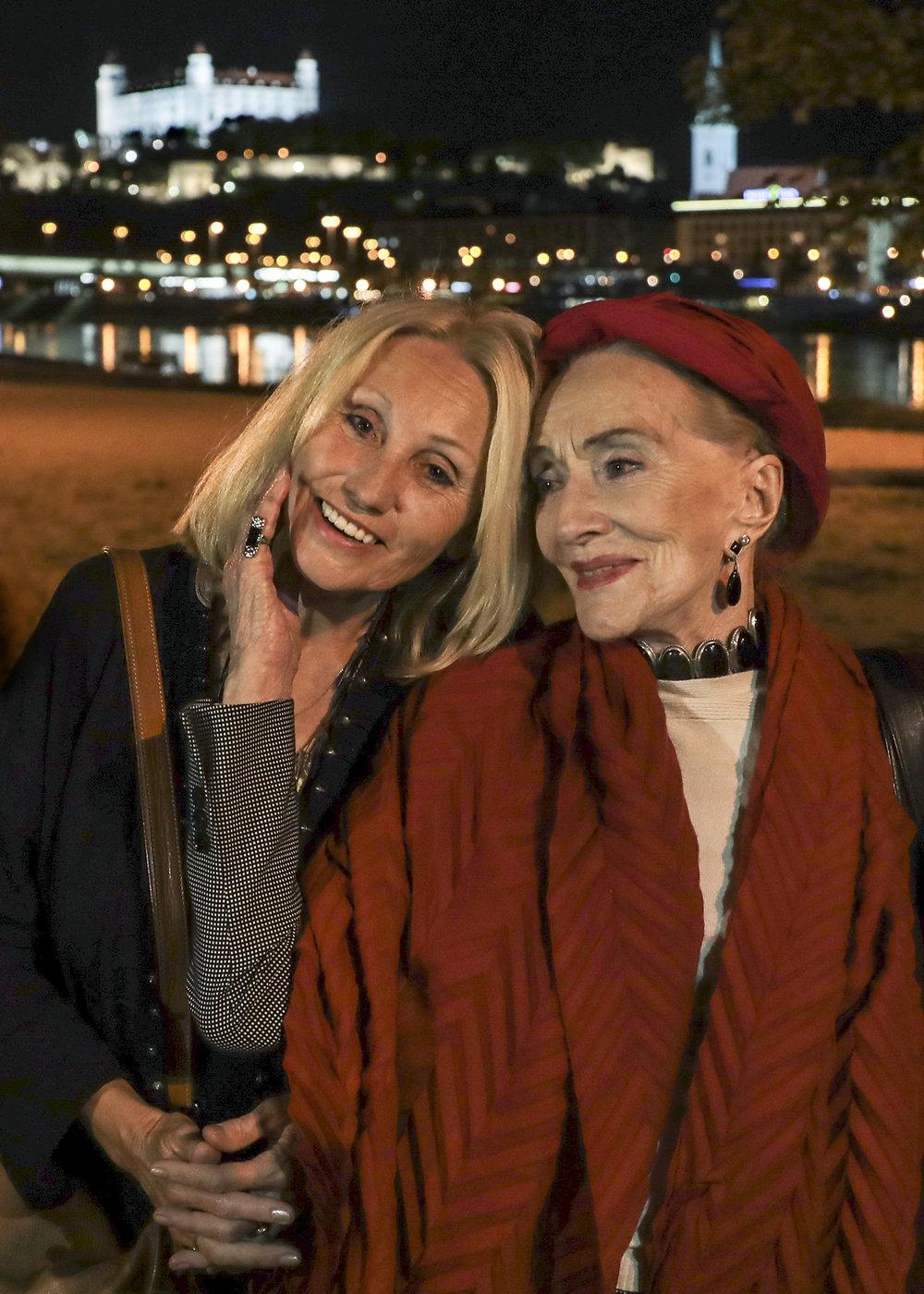 Olga Sommerová a Soňa Červená