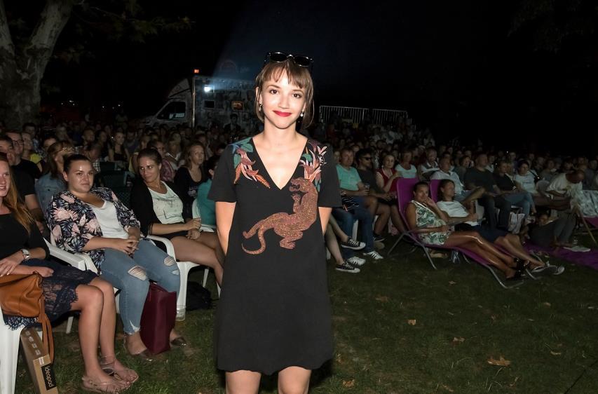Režisérka filmu Tereza Nvotová (Foto: René Miko, (c) PubRes, Bratislava, 13. augusta 2018).