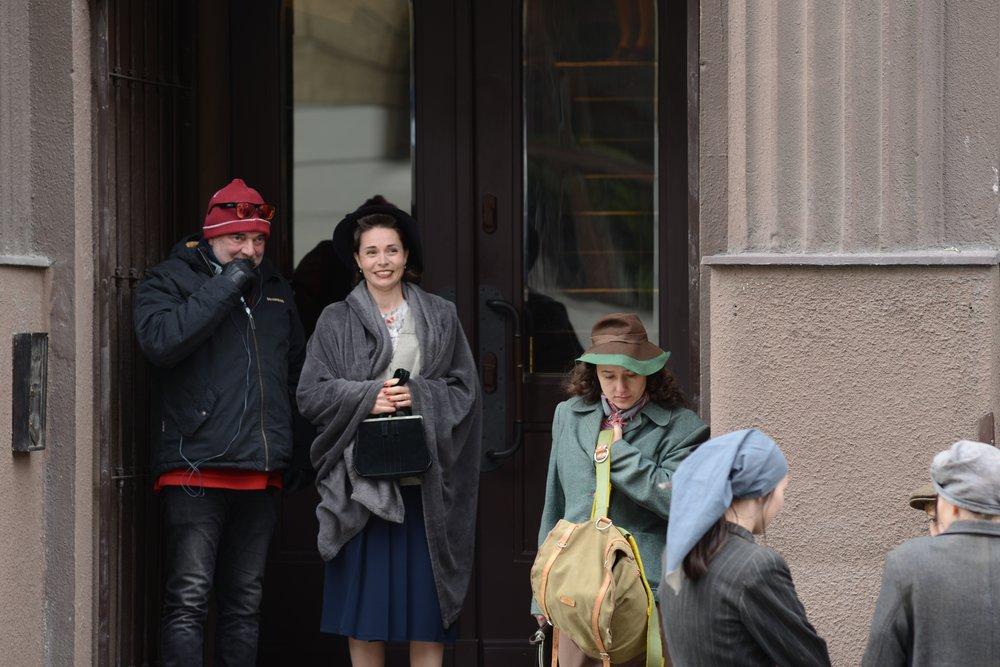 Kateřina Winterová a režisér Ondřej Trojan FOTO Bára Lockefeer.jpg