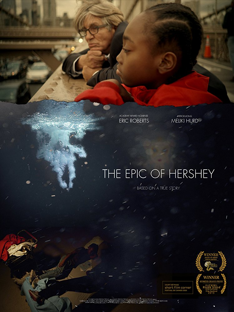 The Epic of Hershey - A young homeless boy goes on a journey to find a mythical goddess who's existence has been rumored throughout every homeless shelter in the city. But when he believes he has found her, and gives a gift from her to a man in need, everything he has ever known comes into question.