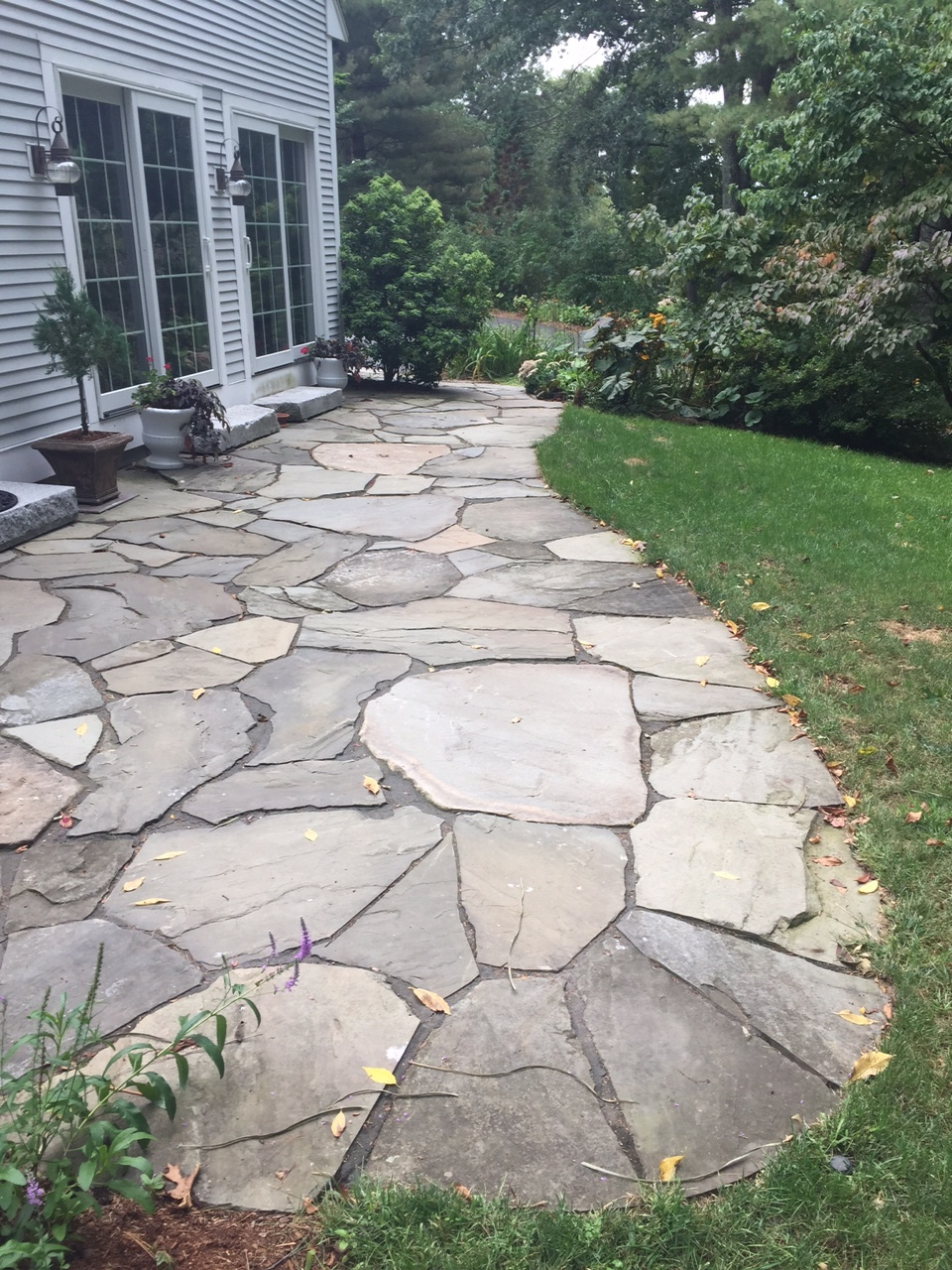 Fieldstone Patio