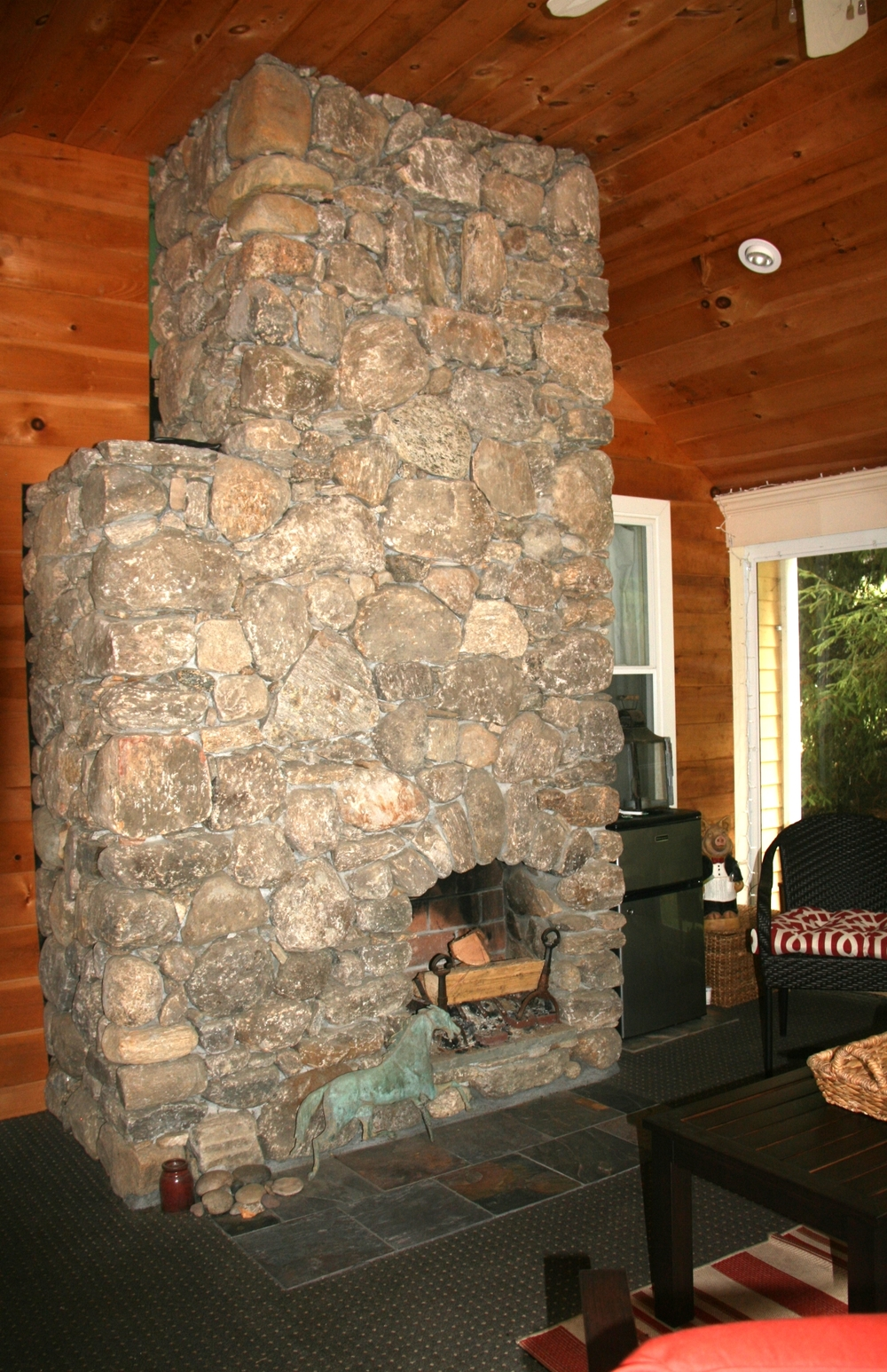 Three Season Room Chimney