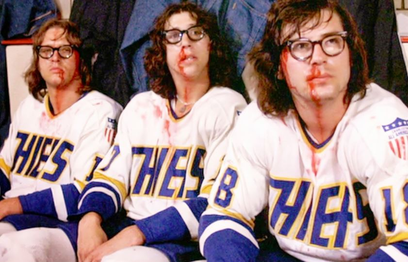 "The Hanson Brothers from ""Slap Shot"""