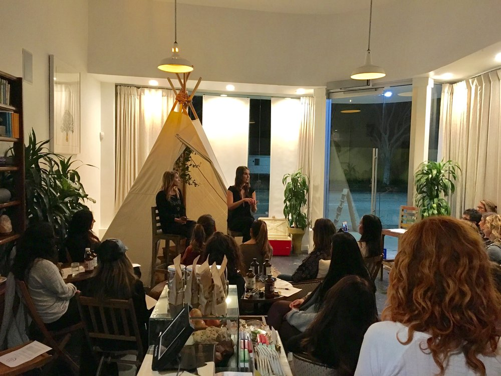 Intuition and Mindfulness in the New Year with Amanda Gilbert at Hyberslow