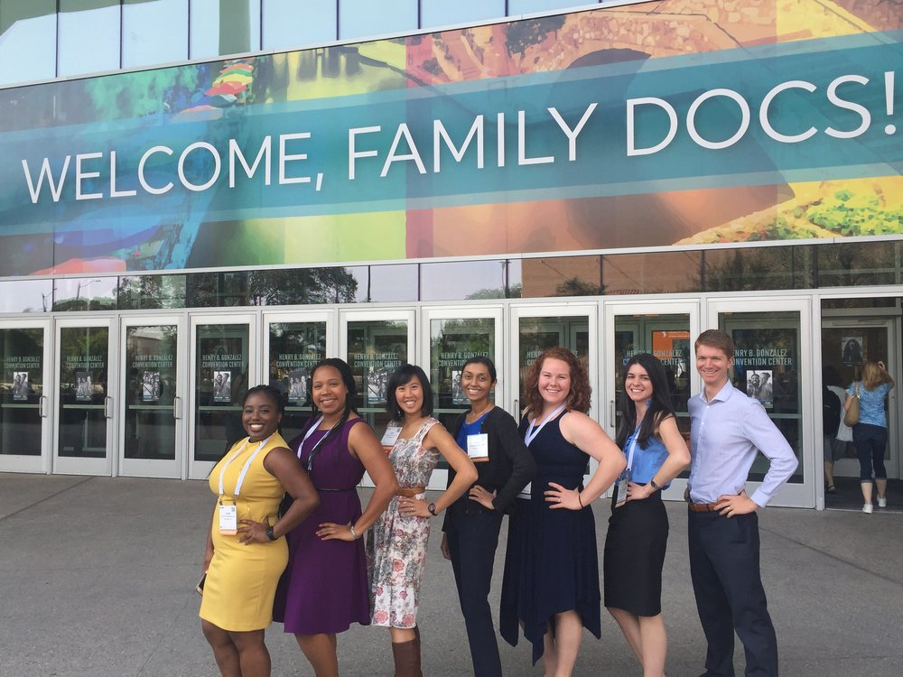 Each September, Grant sends the ENTIRE intern class to the AAFP Family Medicine Experience #aafpfmx, a conference with incredible learning, bonding, advocacy, and fun!  Pictured here is half the class (it's hard to wrangle all of them in one shot- we'll keep trying!).  #grantlove