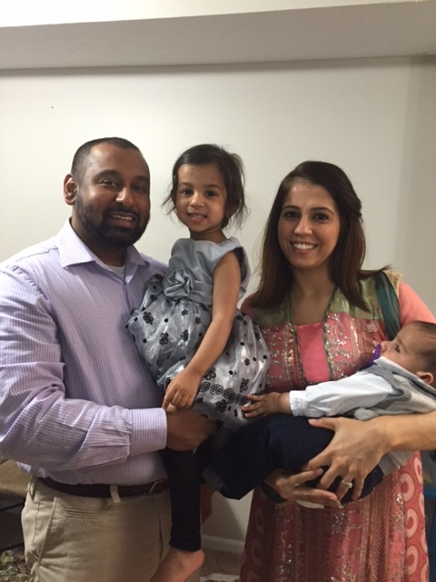 Dr. Syed with family