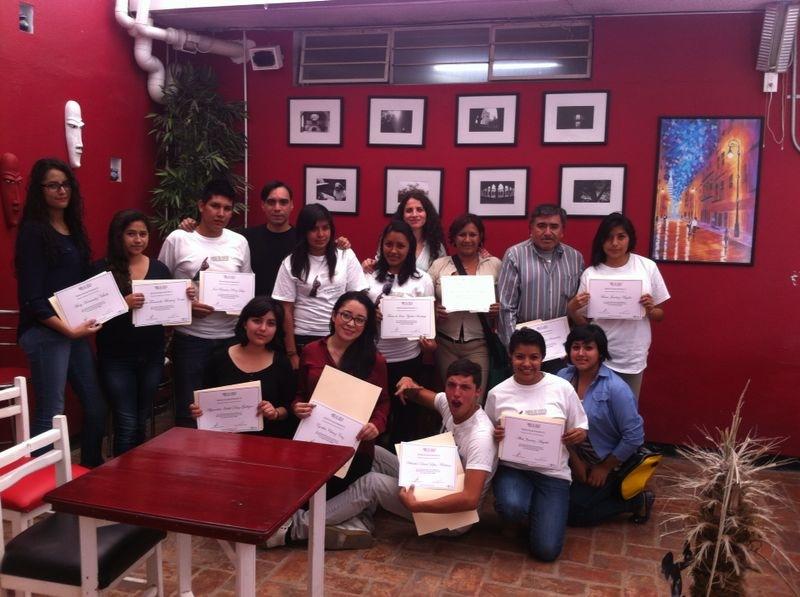 Entrega de reconocimientos a voluntarios.JPG