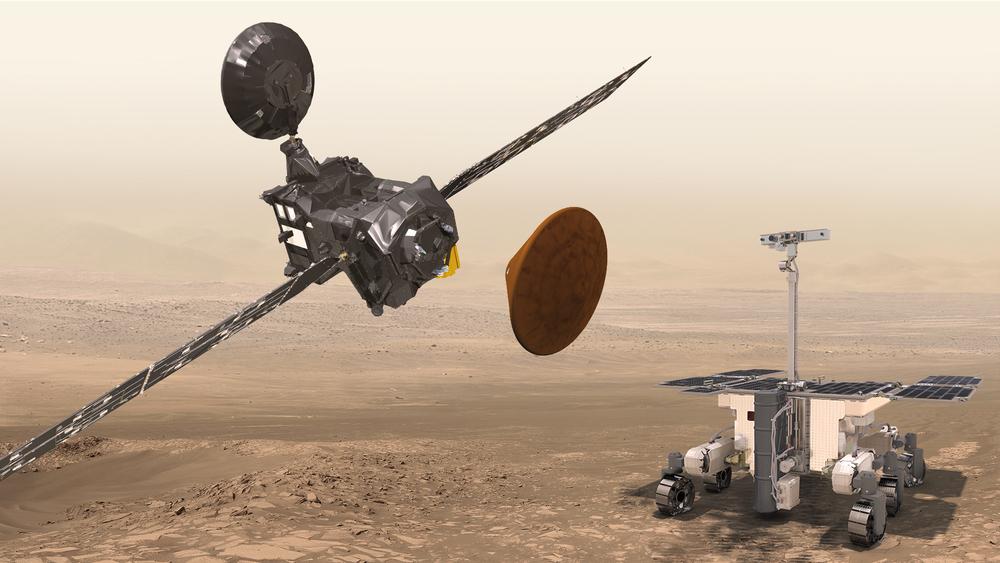 Misión ExoMars de ESA y Roscosmos