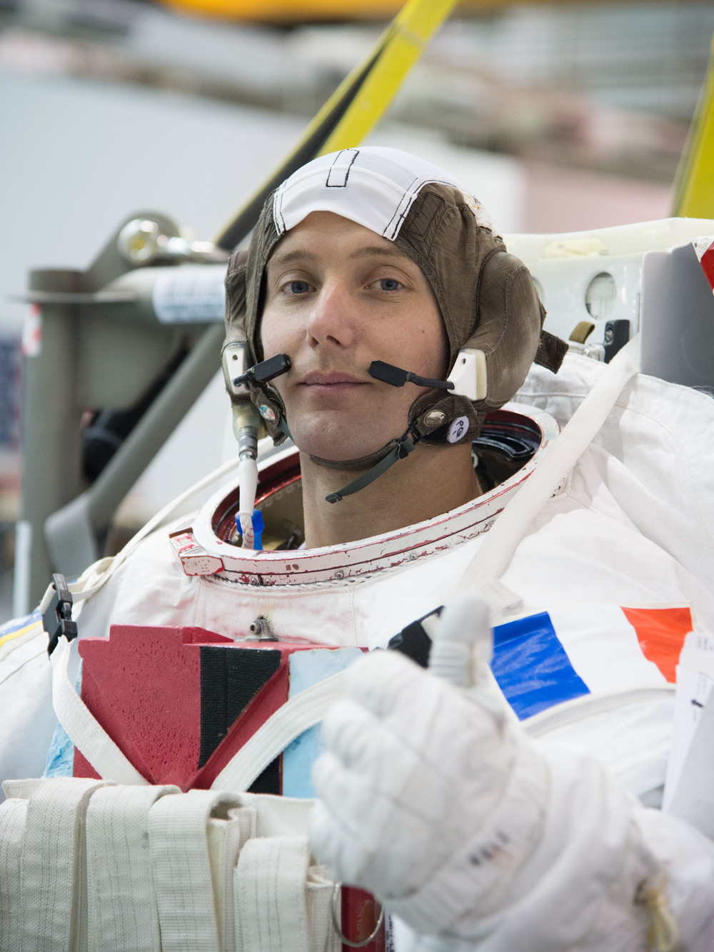 ESA/CNES Astronaut  Thomas Pesquet