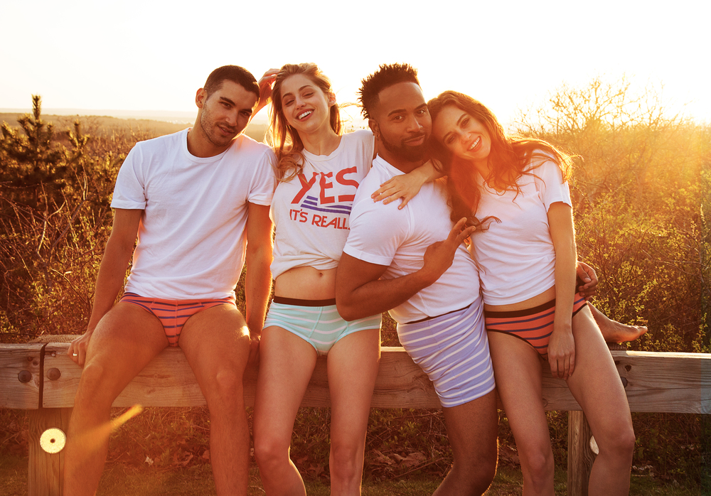 This was a series of photos that went into a new MeUndies campaign shot on location in the Hamptons and Montauk, New York. Thanks to photographer Bekka Gunther for bringing me on this project which to me felt more like a weekend away than work. I truly feel very lucky that I get to do what I do. Also, all the models were amazing humans who made this trip super fun, as well as our stylist Georgia.   For this job, I did hair and makeup and although it was not quite summer just yet, the beaches were super stunning and dreamy.