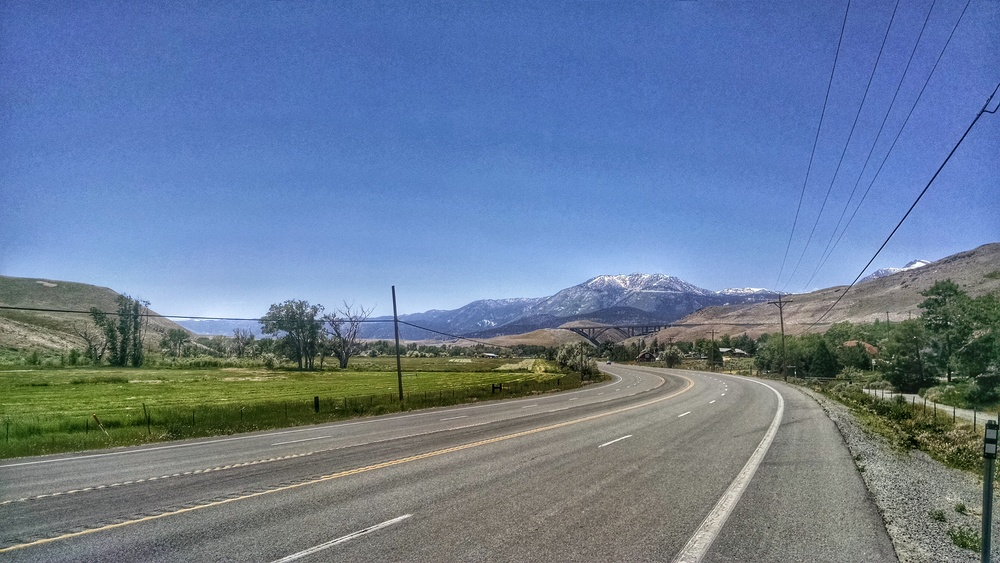 One of my fave rides when home... Washoe Valley