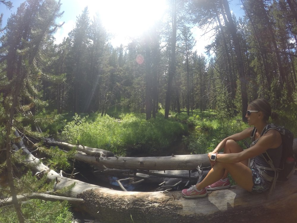 Some hiking and quality downtime following Calgary 70.3 in Yellowstone