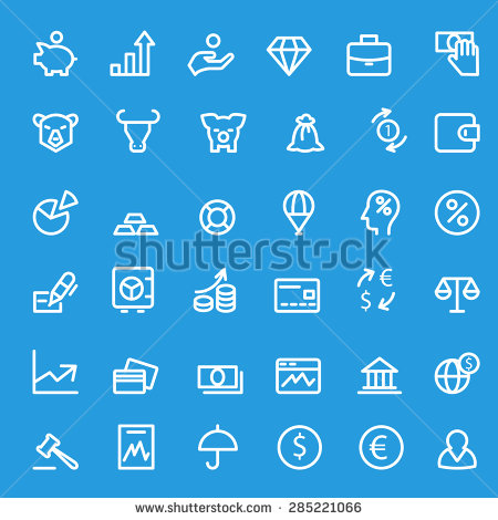 stock-vector-finance-icons-simple-and-thin-line-design-285221066.jpg