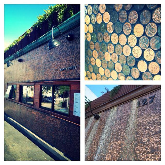 Youthinteractive helped create the Penny Tiles and in 2014 won the SB Beautiful Architecture Feature Award for their contribution to the Penny Wall. Do you know where this is? If you know the answer we will follow you back #streetart #luckypennysb #santabarbara #youthinteractivesb #urban #visitsantabarbara #architecture #wall #art #penny #lucky #restaurant #creation #bronz #landmark #students #sightseeing #reusing #environment #patina #greens