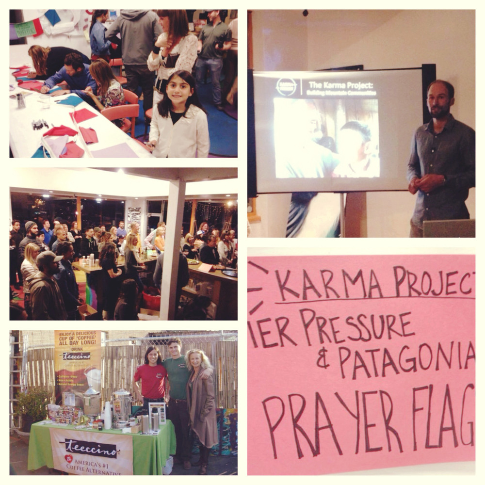 Massive thanks to all of the sponsors, vendors, and our community who came out to Youth Interactive to support The Karma Project this weekend! Our Pier Pressure team sewed together some prayer flags from the recycled material that Patagonia donated, and the flags were decorated at the center by our guests Saturday night. The kids in Nepal will do the same and the prayer flags will be traded! The event also featured a presentation on The Karma Project, live music by Angel Tolentino and the Pasambara band, as well as some local vendors who came down to hang and keep up the cause! In case you missed it check out these photos from the event and the link below to get more familiar with The Karma Project.     http://karmaproject-nepal.org/