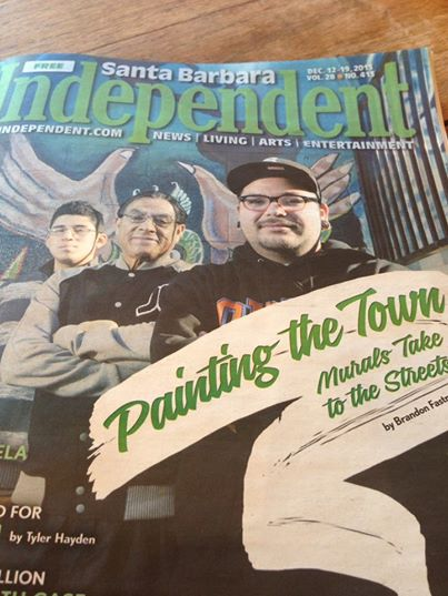 Check out the feature article in this week's Santa Barbara Independent on the talented local Danny Meza! We are so grateful to have this amazing artist as a mentor at Youth Interactive! #mentor #santabarbara #independent #youthinteractive #nonprofit #streetart #painting #murals