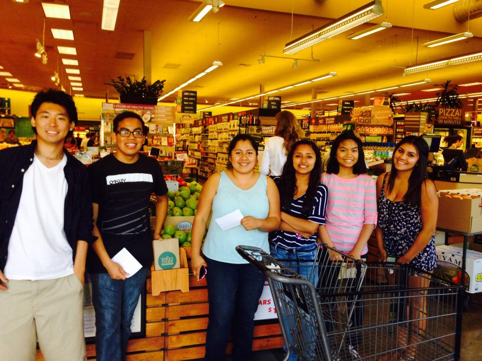Our Whole Foods biscotti team recently visited the supermarket to scope out their target market and buy their first round of ingredients for recipe experiments! We can't wait to see (and taste) their final product!
