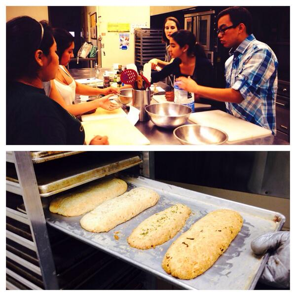 The Whole Foods team made their first batch of biscotti today! They looked and smelled so delicious :)   #biscotti #wholefoods #santabarbara #youthinteractive