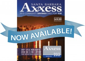 OUR BUSINESS COMMUNITY HERO OF THE MONTH IS - AXXESS MAGAZINE SB!   Youth Interactive wishes to extend the biggest thank you to Laura Inks and Aaron Mercer of Assess Magazine Santa Barbara!   Why?   Axxess Magazine gave a whole case of magazines to Youth Interactive this month!   Laura THANK YOU for making this happen and THANK YOU to Aaron of Axxess magazine for your generous gift. As a result, all of January, we have been able to give everyone of our dedicated volunteers an Axxess Magazine to thank them for all their generous community work and support of Youth Interactive 2013!!   AND THE MANY SMILING FACES YOU MADE THIS MONTH IS WHY WE WANTED TO CELEBRATE OUR JANUARY 2013 COMMUNITY HERO - AXXESS MAGAZINE.    THANK YOU, AGAIN, YOU HAVE MADE MANY VERY HAPPY!!!