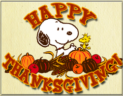Have a wonderful Thanksgiving, everybody!