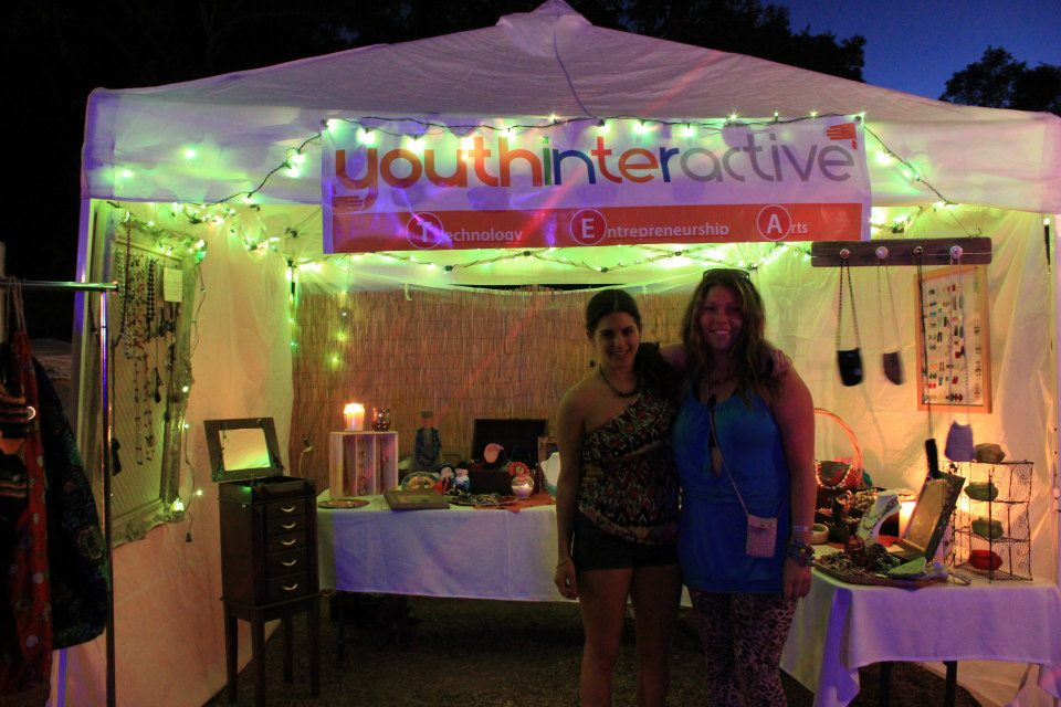 How cool - Youth Interactive Fundraising at Lunacy!