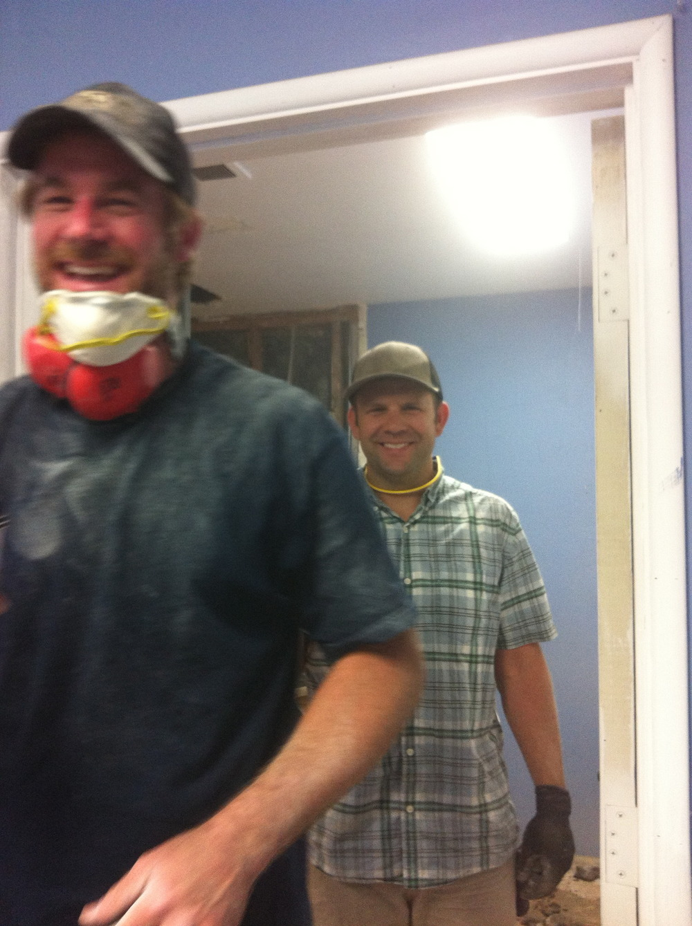 Who knew giving back to the community could be such fun! Thanks to Jeff Mumm and our neighbor Adam the winemaker at PALI for giving up their day to help build the Youth Interactive kitchen!