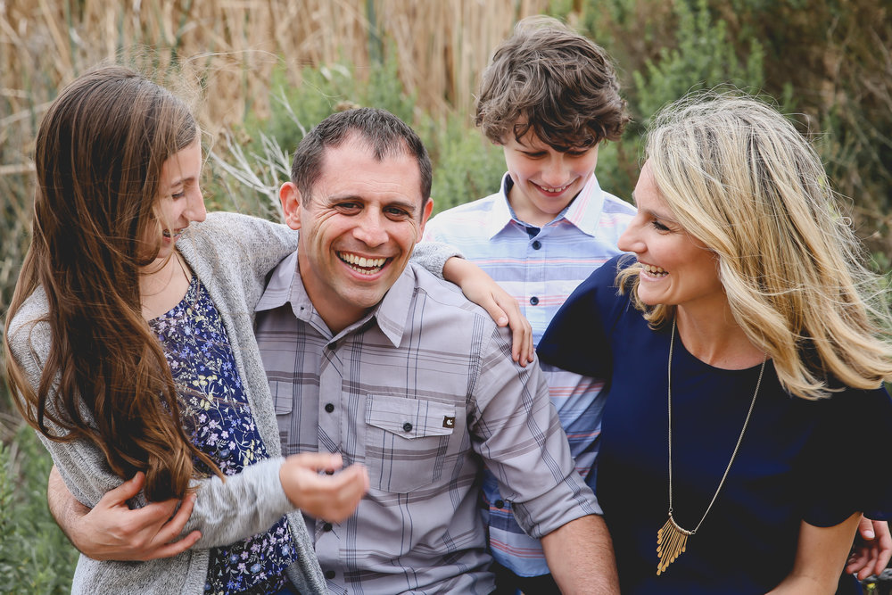 Family - Natural light, outdoor portraiture.