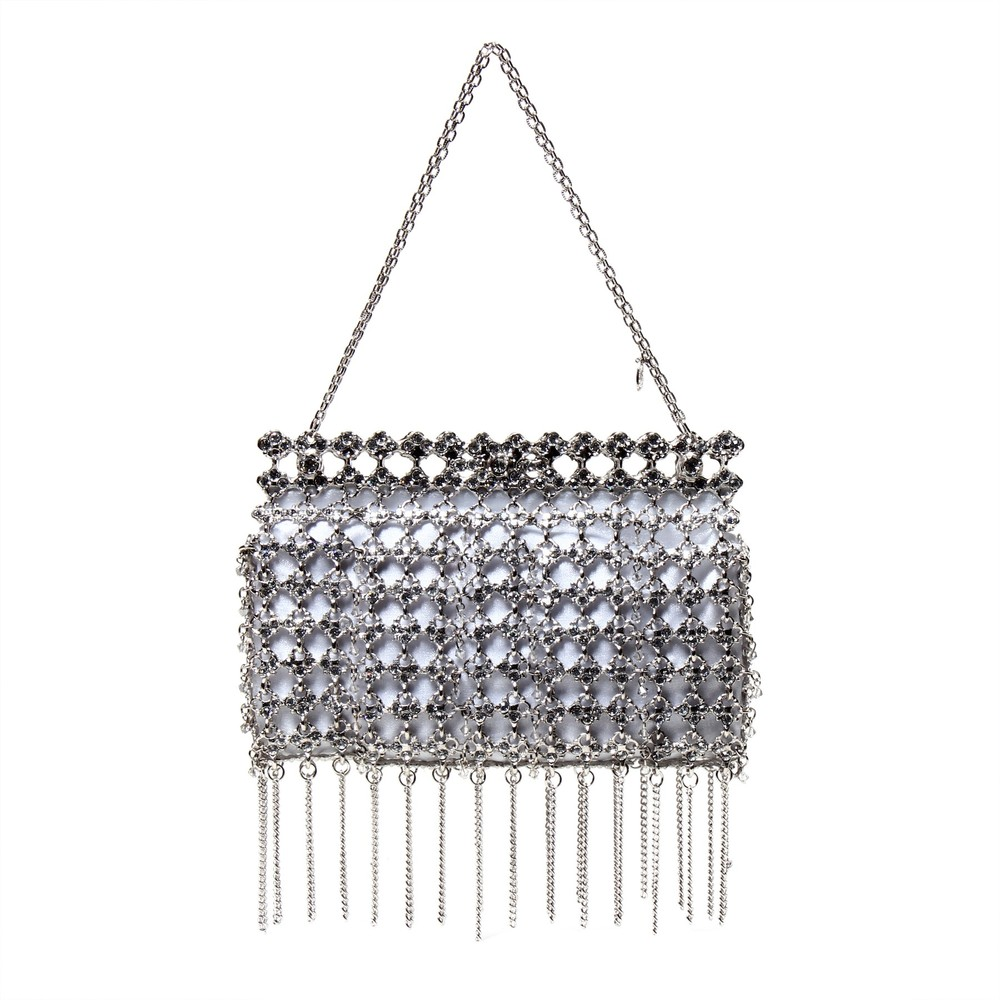 Fringe Jeweled Shopper_Silver.jpg