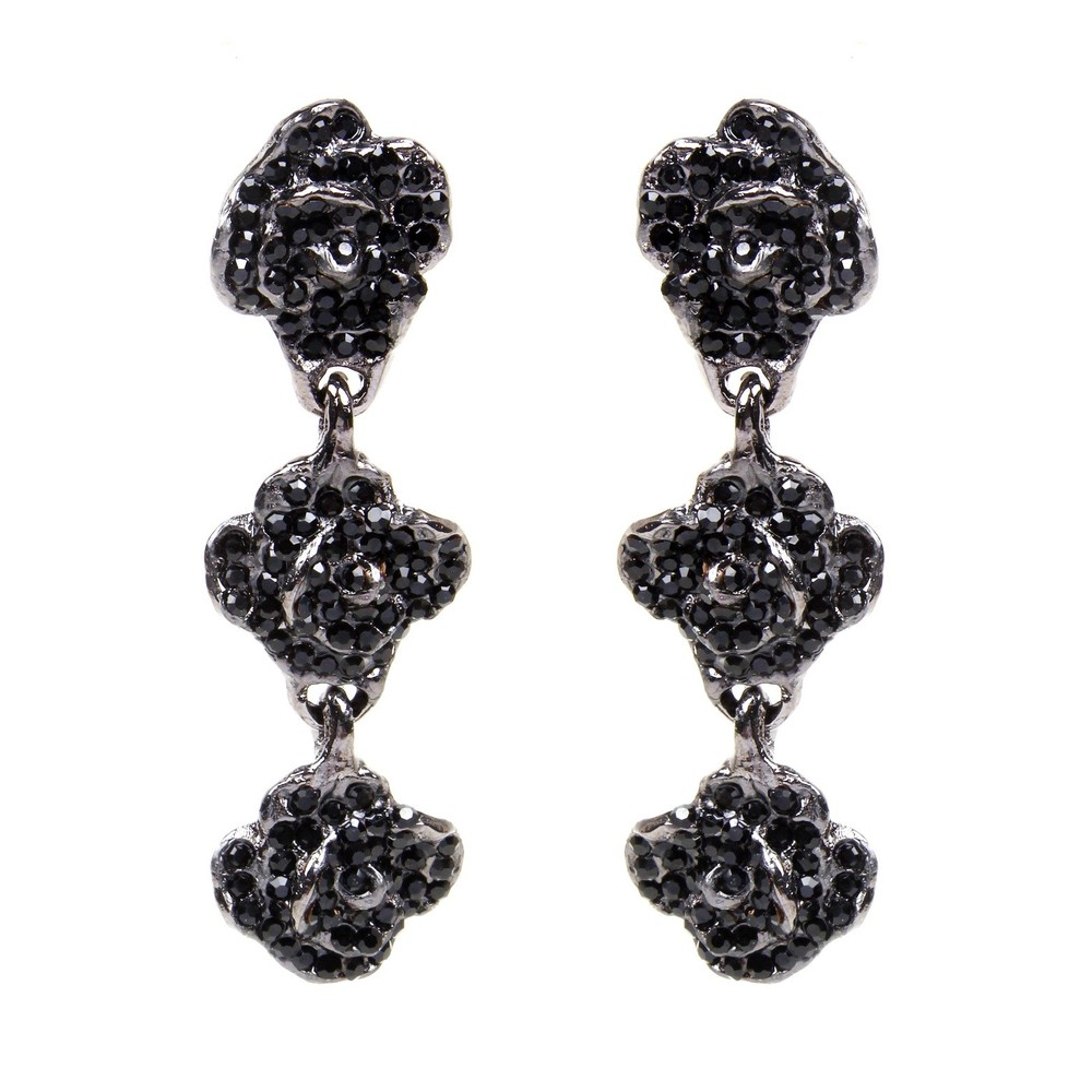 Triple Rosa Earring_black.jpg