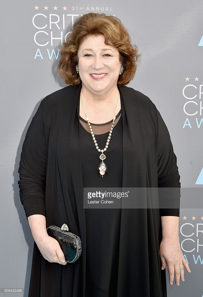 Margo Martindale | 2016 Critics' Circle Awards | Clara Kasavina Ginger Clutch in Black Python
