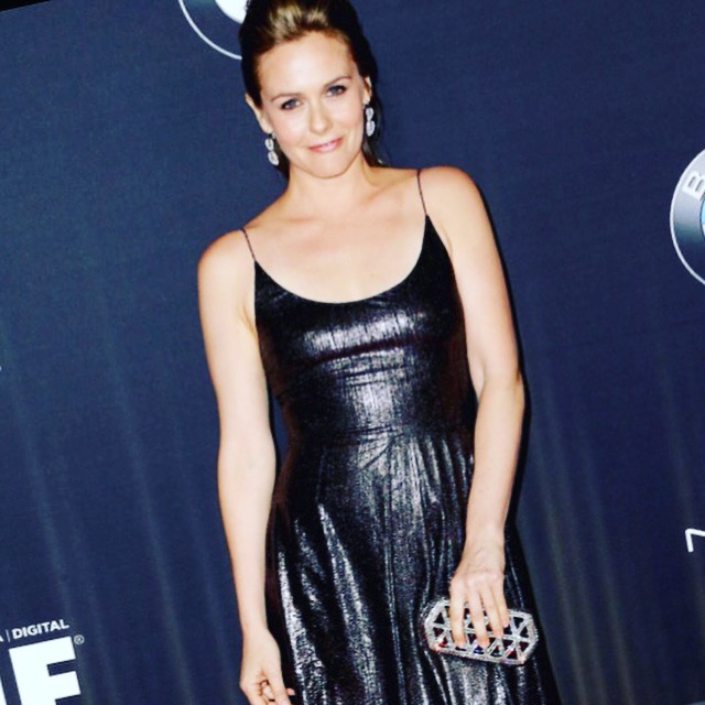 Alicia Silverstone | Clara Kasavina | Women in Film | Jill Clutch in Black Diamon