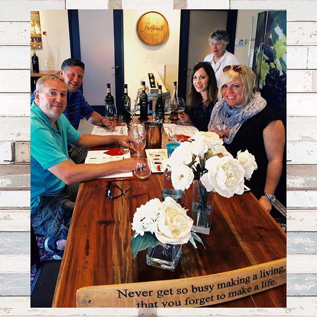 #davinewinetours #fortunati #fortunativineyards #winetime #winetasting #winepairing #napa
