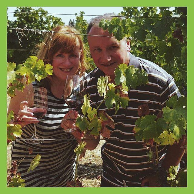 #davinewinetours #davines #vineyard #inthevineyard #drinkingwine #goosecrosscellars #winetasting #cabernet #merlot #harvest2016